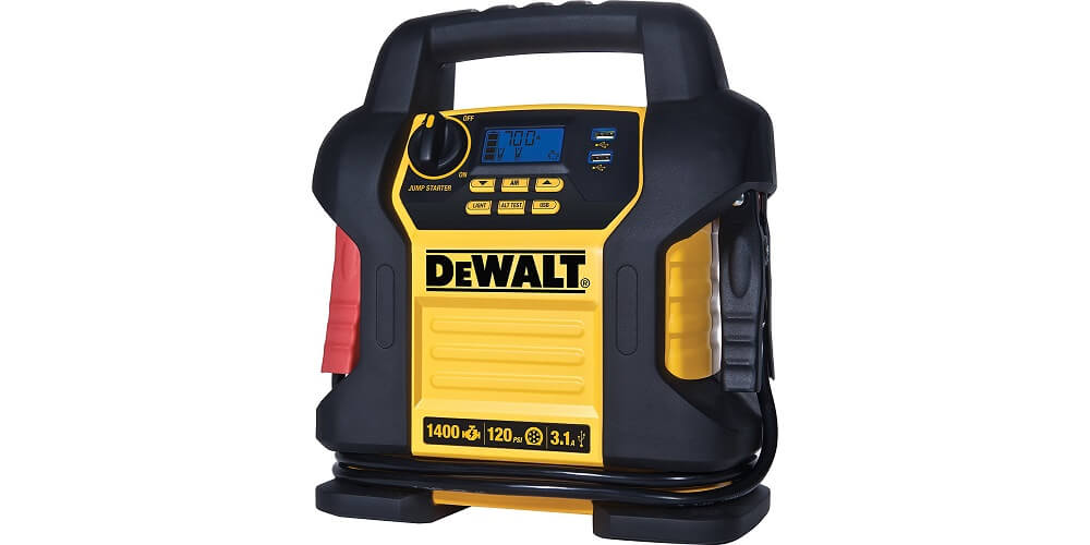 Best Jump Starter for Large Cars DEWALT DXAEJ14