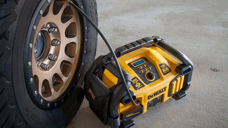 The Best Jump Starter with an Air Compressor