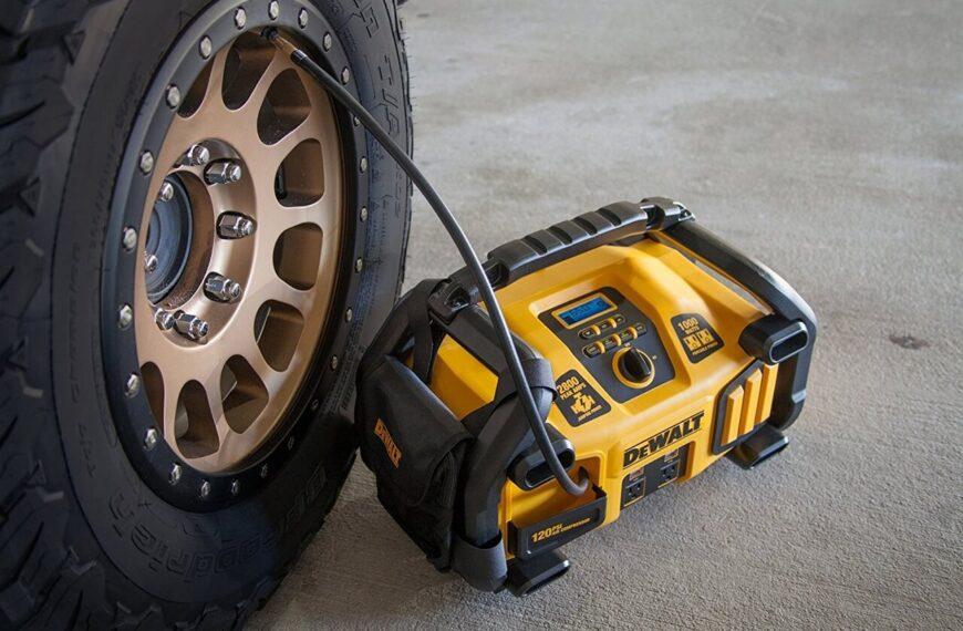 The Best Jump Starter with an Air Compressor