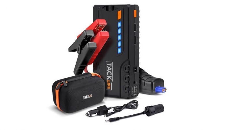 Car Jump Starter, Tacklife T6 600A 16500mAh