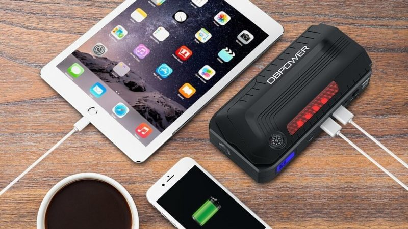 DBPOWER 800A Peak 18000mAh Portable Car Jump Starter