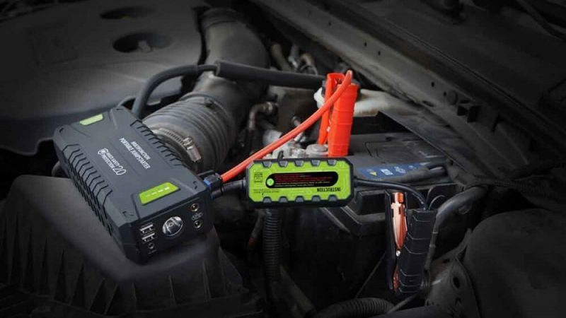 Dr.Auto 1000A Peak Current 20000mAh 12-Volt Portable Car Jump Starter