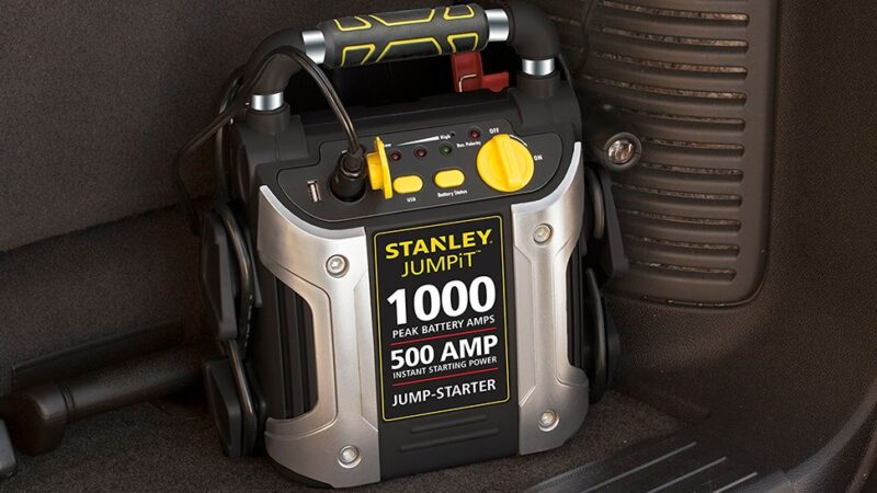 Stanley J5C09 500-Amp Jump Starter Buyers Review