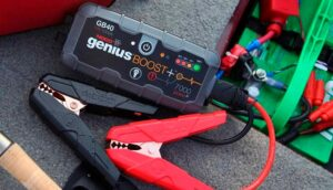 Jumpstart a Car with a Portable Jump Starter