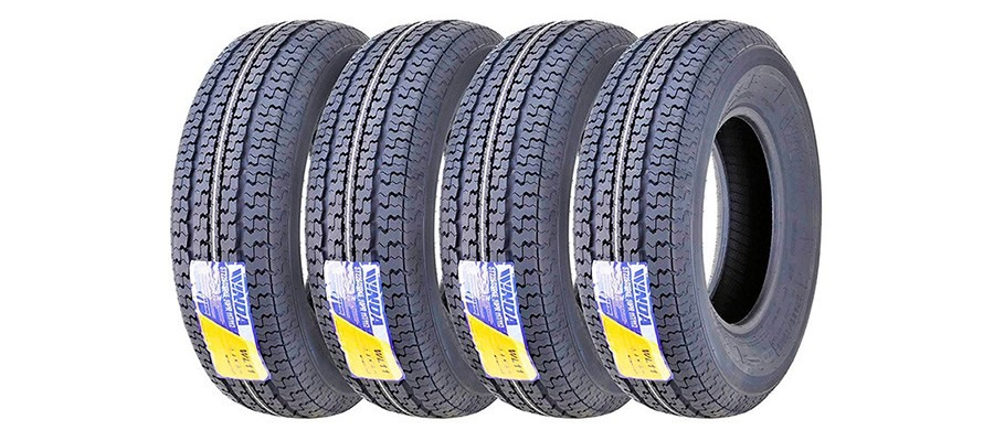 Set of 4 New Premium WINDA Trailer Tires ST 225/75R15 10PR