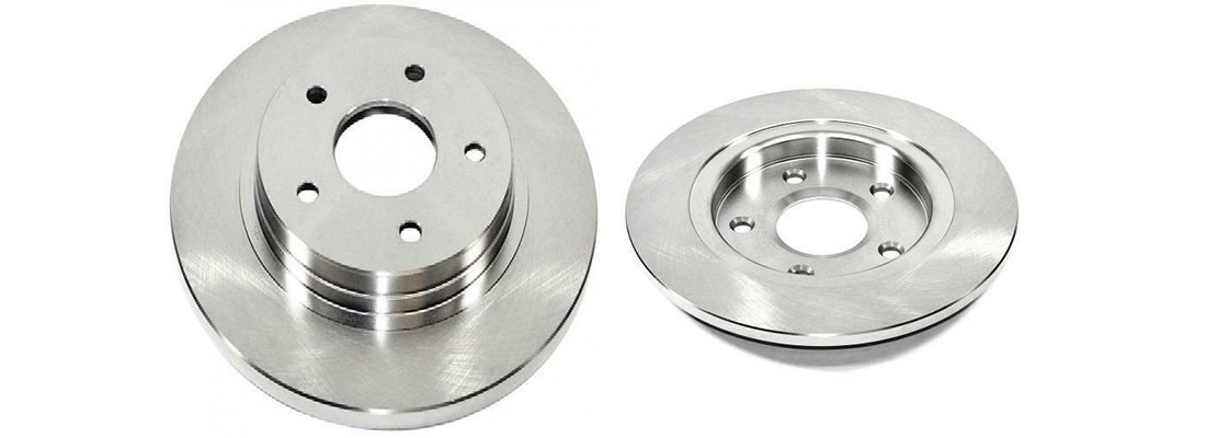 DuraGo BR900526 Rear Solid Disc Brake Rotor
