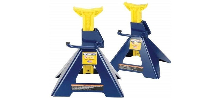 Hein-Werner HW93506 Blue/Yellow Jack Stands