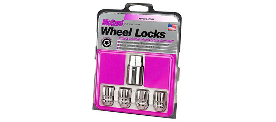 McGard 24157 Chrome Cone Seat Wheel Locks