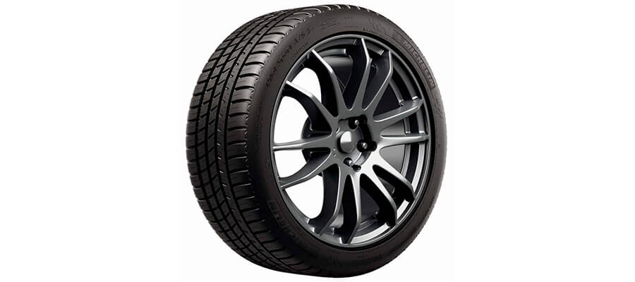 Michelin Pilot Sport A/S 3+ All Season Tire-225/45ZR17/XL 94Y
