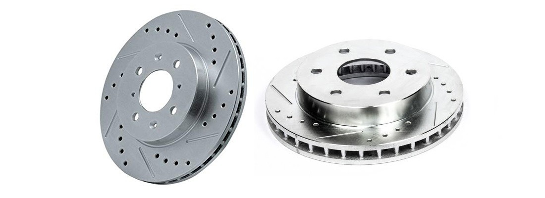Power Stop K1970 Drilled/Slotted Brake Rotors