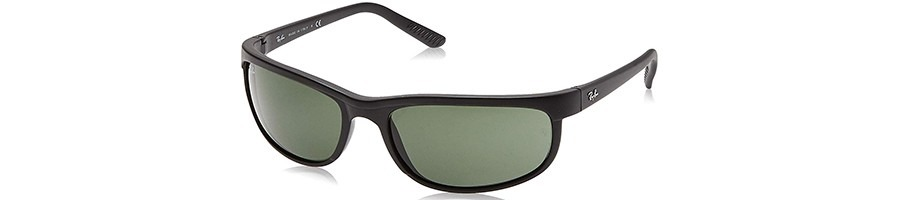 Ray-Ban Men's RB2027 Predator 2 Rectangular Sunglasses