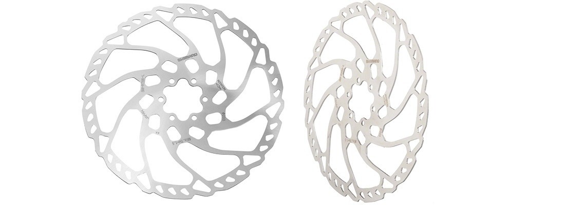 SHIMANO Deore RT66 180mm 6-Bolt Disc Rotor