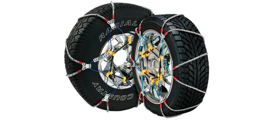 Security Chain SZ143 Cable Tire Chain Set of 2