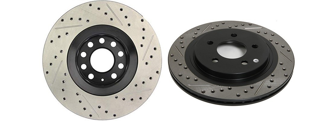 StopTech 127.40046R Sport Drilled/Slotted Brake Rotor