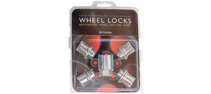 TOYOTA Genuine Accessories 00276-00900 Wheel Lock