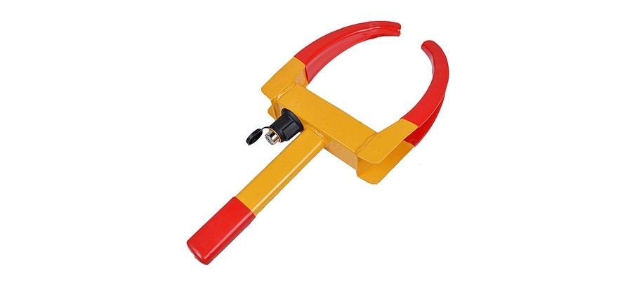 ZONETECH Wheel Lock Security Tire Clamp