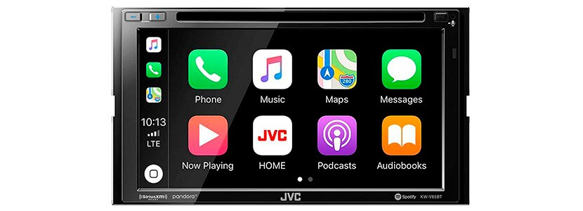 JVC Double DIN Bluetooth Car Stereo Receiver