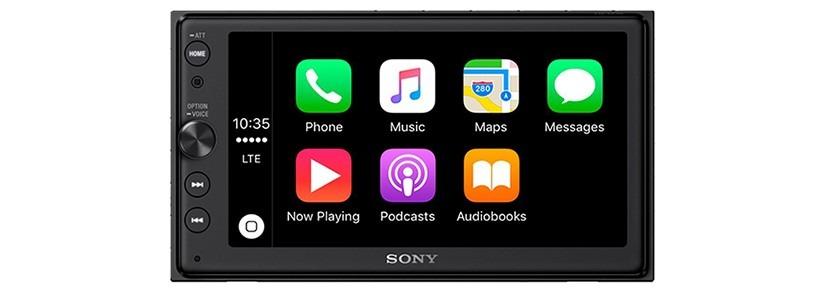 Sony XAV-AX100 6.4″ Car Play/Android Auto Media Receiver