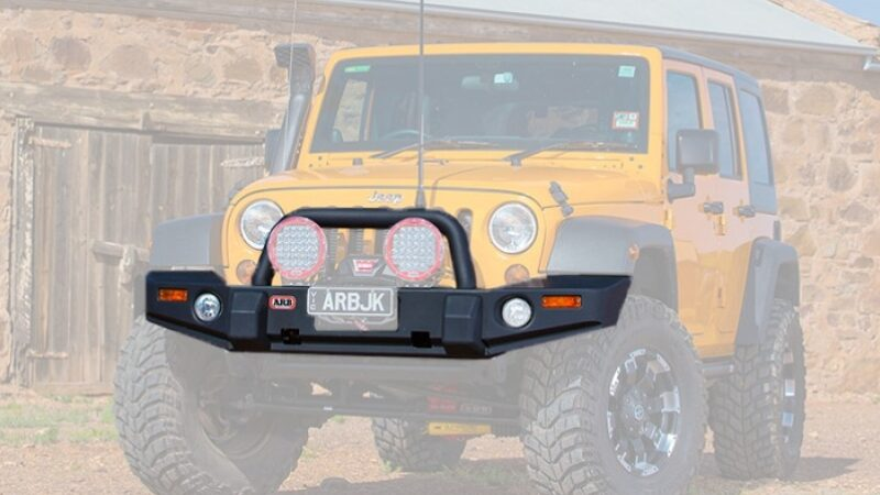 Top 5 Jeep Wrangler Bumpers