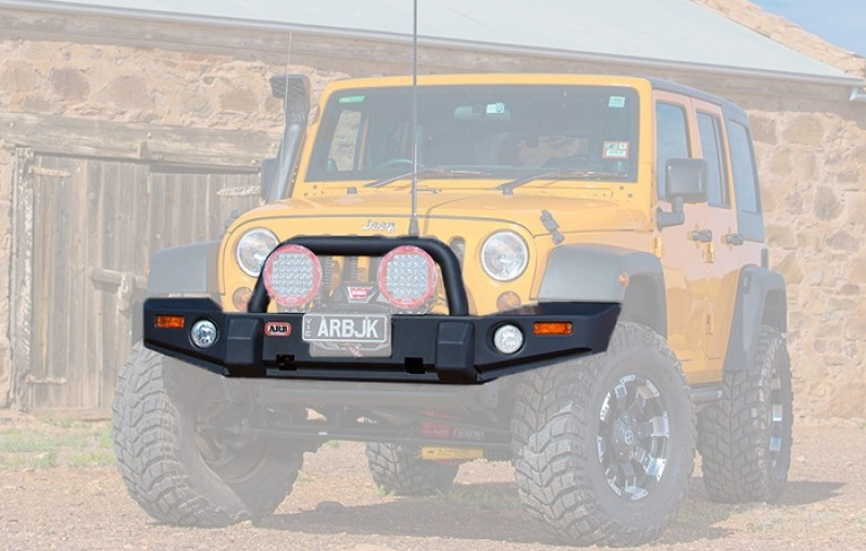 Top 5 Jeep Wrangler Bumpers