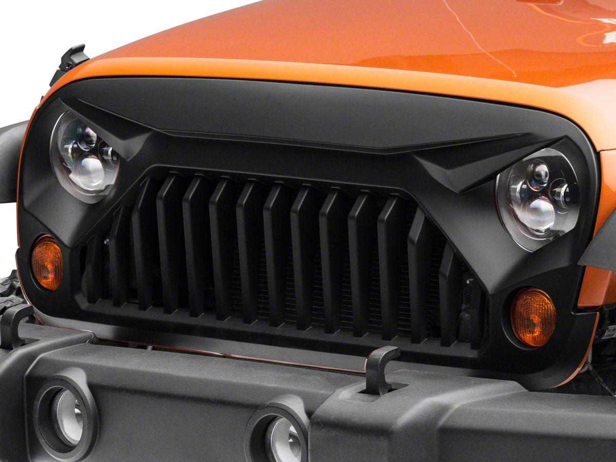 Top 5 Jeep Wrangler Grills