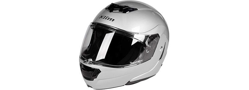 KLIM TK1200 Helmet ECE/DOT 2X Gloss Silver