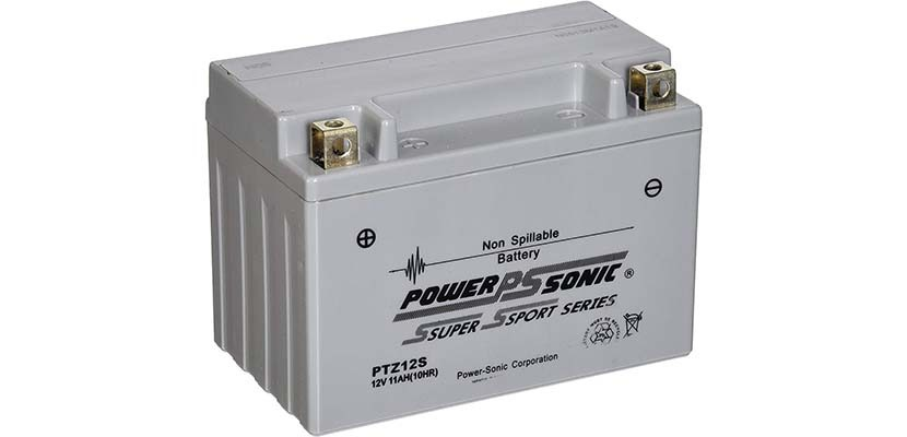 Power-Sonic PTZ12S Free Powersport Battery