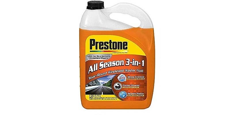 Prestone AS658-6PK Deluxe 3-in-1 Windshield Washer Fluid
