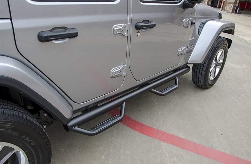 Top 5 Jeep Wrangler Side Steps