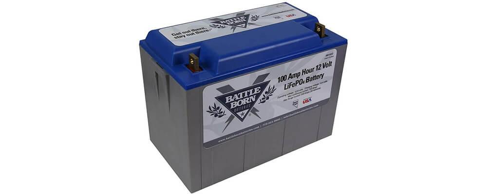 Battle Born LiFePO4 charger