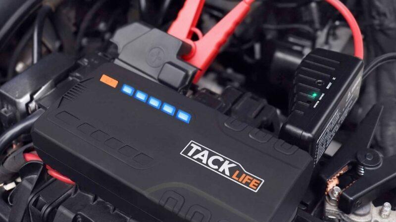 Tacklife T6 600A 16500mAh Car Jump Starter Review
